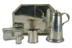 Unpainted Tinware